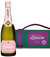 Lanson Rose Label NV 75cl in Wimbledon Carry Case