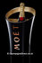 Moet & Chandon Black Resin Ice Bucket