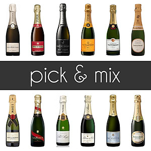 Pick & Mix Half Bottles Mixed Case (6 x 37.5cl)