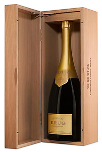 Krug Grande Cuvée Jeroboam (3 ltr) in Wood Box
