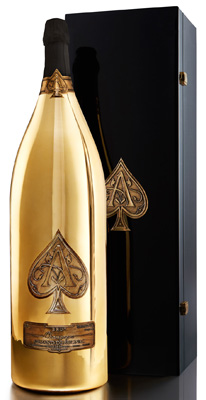 Armand de Brignac Brut Gold NV Midas (30 ltr) in AdB Box