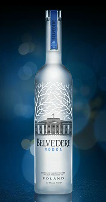 Belvedere Pure Vodka Magnum Plus (1.75 ltr) - Light Up Bottle