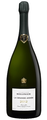 Bollinger La Grande Annee 2012 Jeroboam (3 ltr) in Green Wood Box