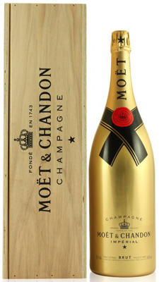 Moet & Chandon Brut NV Jeroboam (3 ltr) - Gold Edition