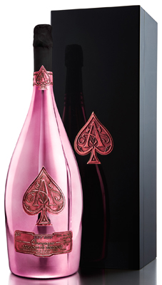 Armand de Brignac Rose NV Jeroboam (3 ltr) in AdB Box