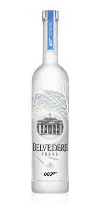 Belvedere Pure Vodka Magnum (1.75 ltr) - SPECTRE 007 Light-Up Edition