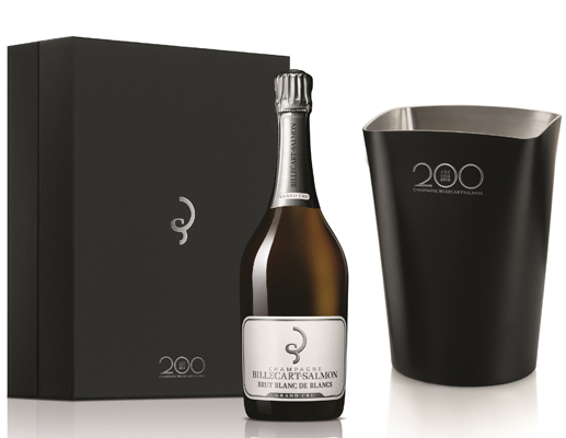 Billecart-Salmon Blanc de Blancs Grand Cru NV 75cl - Ice Bucket Set