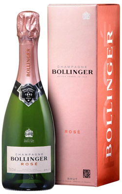 Bollinger Rose NV 37.5cl in Gift Box (half bottle)