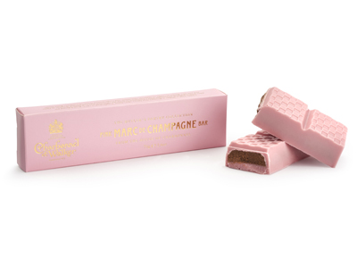 Charbonnel et Walker Pink Marc de Champagne Chocolate Bar 75g