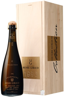 Henri Giraud Fut de Chene 2000 75cl in Wood Box