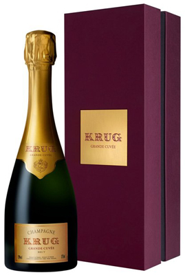 Krug Grande Cuvée 37.5cl in Gift Box (half bottle)