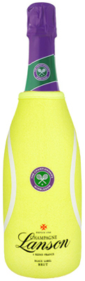 Lanson White Label NV 75cl - Wimbledon Edition in Tennis Neoprene
