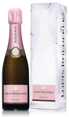 Louis Roederer Brut Rose 2011 37.5cl (half bottle)