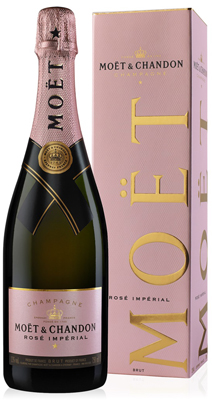 Moet & Chandon Rose NV 75cl in Moet Box