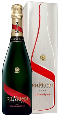 Mumm Cordon Rouge Brut NV 75cl in Gift Box