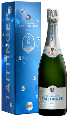Taittinger Brut Reserve NV 75cl - FIFA World Cup
