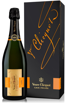 Veuve Clicquot Cave Privee 1989 75cl in Wood Box
