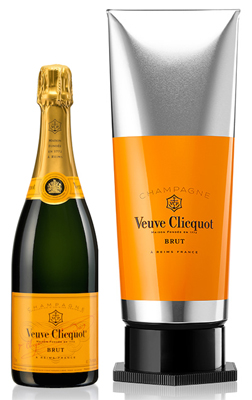 Veuve Clicquot Brut NV 75cl - Gouache Yellow Label