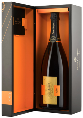 Veuve Clicquot Cave Privee 1989 Jeroboam (3 ltr) in Wood Box
