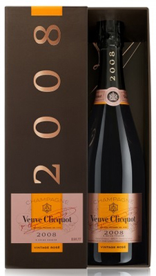 Veuve Clicquot Vintage Rose 2008 75cl in Veuve Box